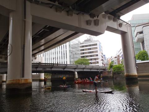 東京でもたとえば、同じ高架下河川として日本橋川がある。こちらも快適。