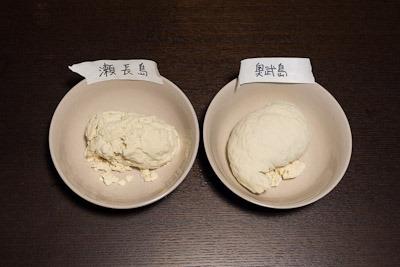 紙粘土にみえるけど豆腐です
