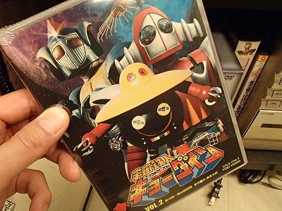これ見ていたなあ。宇宙鉄人キョーダイン。改めて見直したくなった。