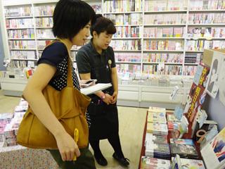 中村明日美子さんという漫画家さんのコーナーが。女性に人気なんだな