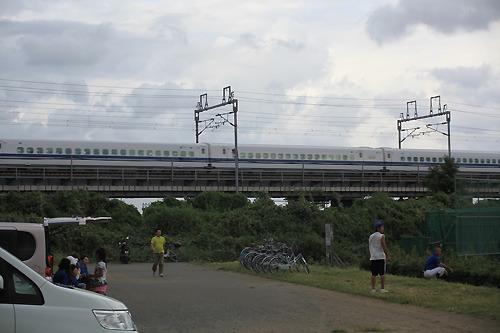 新幹線だった。