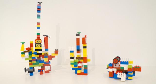 レゴをただただなにも考えずに固めると…かっこいい!
