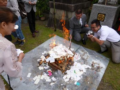 さすが紙!よく燃えます。