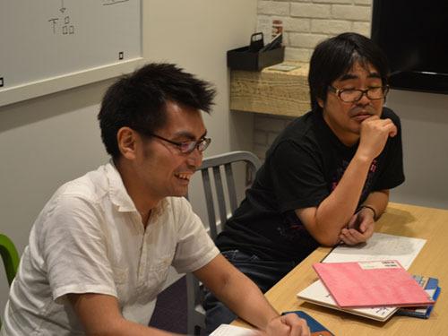 アスペクトからは関さん、前田さんが参加