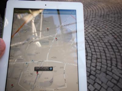 あとで気づいたことにはデジタルのガイドブックはPDFではなくて、スマートフォンアプリになっていた。500円。Google Mapと連動していてものすごく便利。