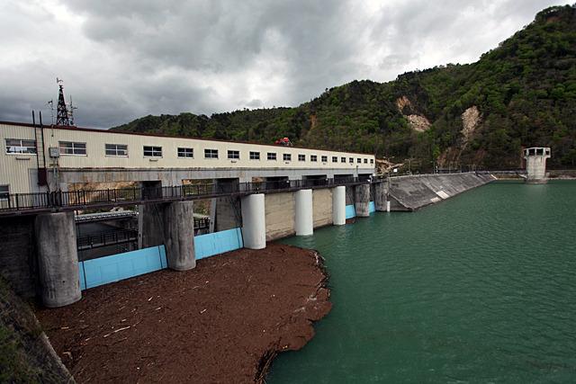 2度目の強い揺れも石淵ダムは耐えた