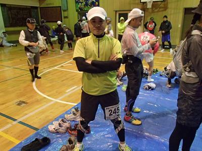 黒田さん。マラソン歴はまだ2年。しかし、元々結構なアスリート。