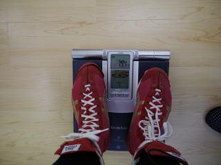 トレーニング前:79.4キロ