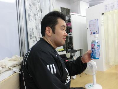 ちなみに彼は同時期に通い始めた友人の鈴木くん。もともと130キロあったが、今では90キロを切っている