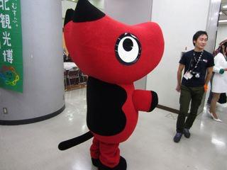 会津若松の赤べこ。無表情さがたまりません。