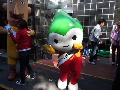 ゆるキャラグランプリ2012、上位のちょるるも、かわいいけども。