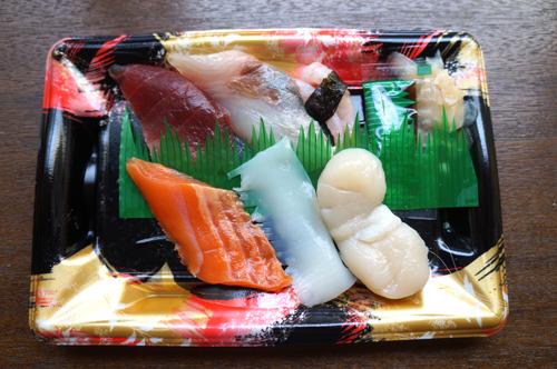 シャリなしの具だけでも刺身というより寿司っぽかった