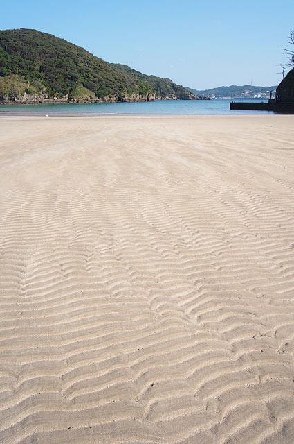 白い砂浜。もう何もかも素敵に見える。
