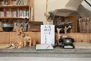 この日も東京から見学者がきていた