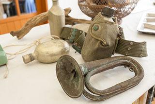 戦時中に使用されていた品々