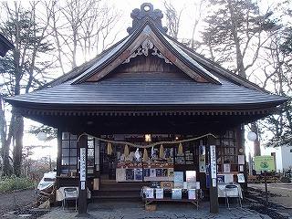 長野・熊野皇大神社の神楽殿