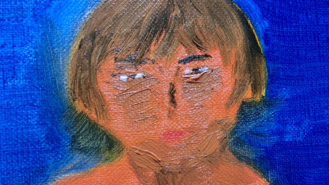 ありのままの自分をキャンバスに描く