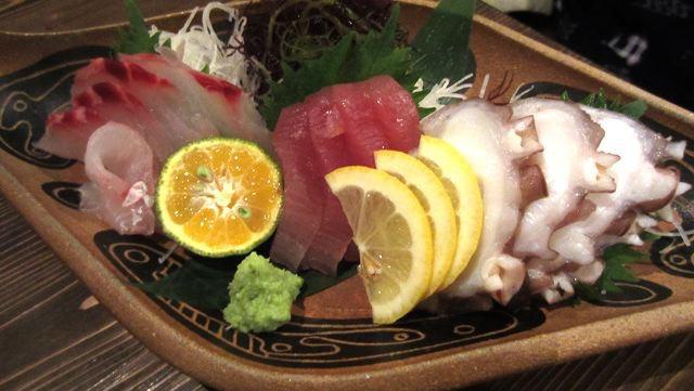 刺身も美味しかった。わさびが、ちゃんとすりおろしたわさびだったのも、丁寧でぐっときた。