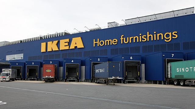 IKEAの搬入口がかっこいい :: デイリーポータルZ