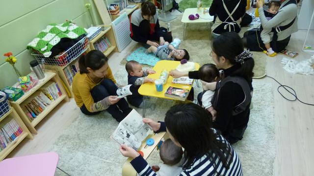 漫画と赤ちゃんくつろぎ放題!