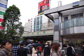 渋谷駅ではきれいな円をかける自信がある!