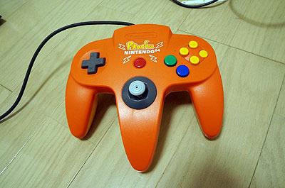 Nintendo64のコントローラ