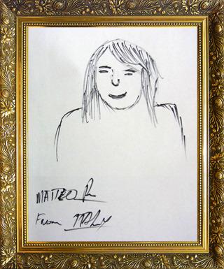 イタリア代表 マテオさん画