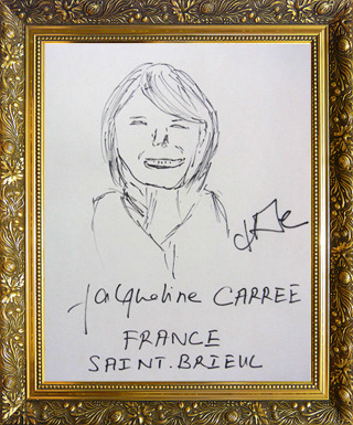 フランス代表 ジャクリーヌさん画