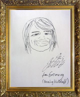 ドイツ代表 ホルフドフさん画
