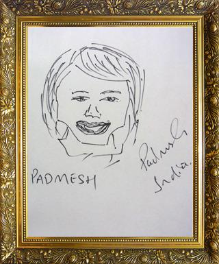 インド代表 パドメッシュさん画