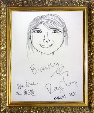 香港代表 レイさん&モニクさん画
