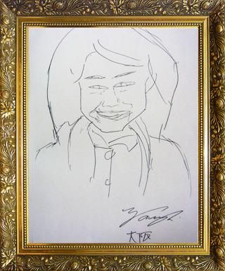 日本代表 谷口さん画