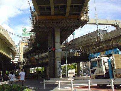 2004年、浜崎橋ジャンクション(古賀さんの記事より)