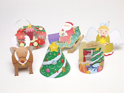 クリスマスツリー飾り・メモの部