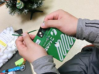 結束用の針金は、ケースに針金カッターがついてるものがオススメ。
