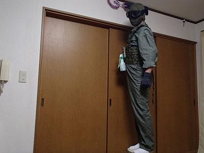 台から降りなくても手元に全部の道具が揃っていて便利!