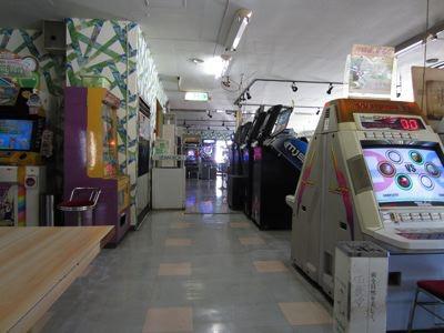 ゲームセンター部分自体は、そんなに激烈レトロゲームはなかった。ただ、10年前くらいのゲームは多かった気がする。『ミスタードリラー』とか。
