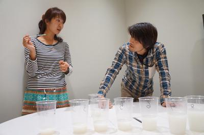 濃さでいきなり揉めたのは編集部の橋田と安藤