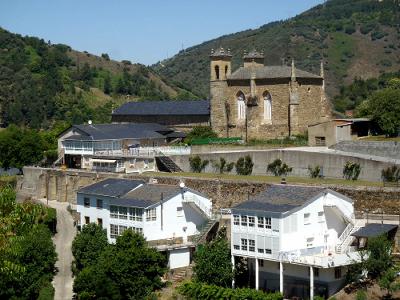 サンティアゴ巡礼路の終盤、ビジャフランカという町