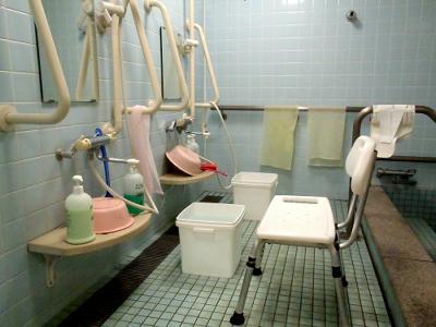 風呂もあるにはあるのだが……