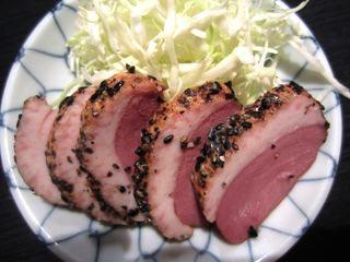合鴨パストラミ150円。おいしい加工肉。
