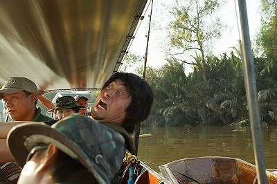 エクストリーム川釣り
