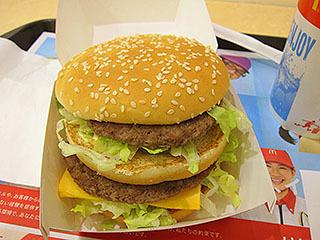 終わった後にビッグマック食べた。やっぱビッグマックソースが美味い。