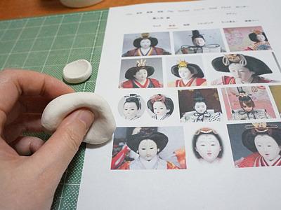 何で型を作るかで散々悩んだが、石粉粘土をテキトーに使うことに。