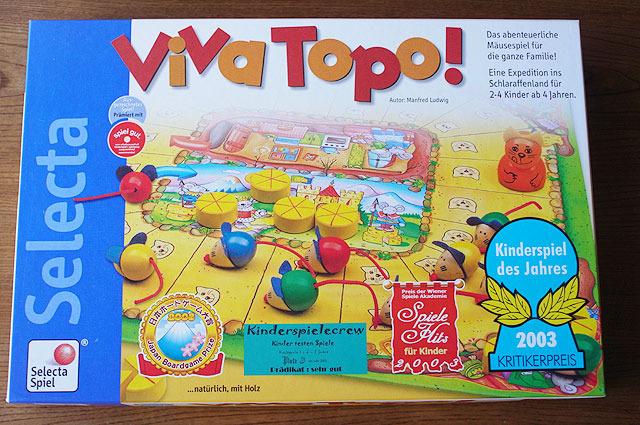 ねことねずみの大レース(Viva Topo!) 2003年ドイツ年間キッズゲーム大賞受賞