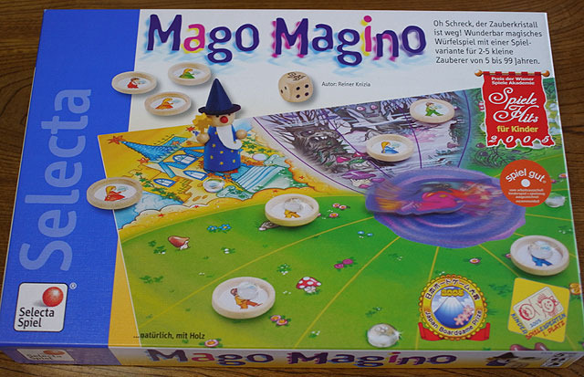 水晶をとりもどせ! (Mago Magino) 2005年日本ボードゲーム大賞</a>子供ゲーム部門に選ばれている。