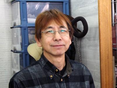 帽子職人で社長の川口さん。