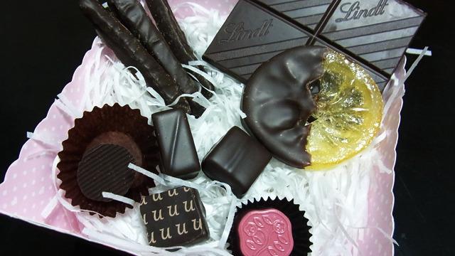 一番酸っぱいチョコはどれだ?