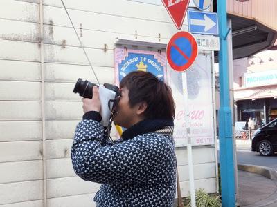 それをまたいいカメラで写す人々