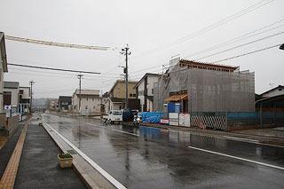 住宅建設ラッシュだった。
